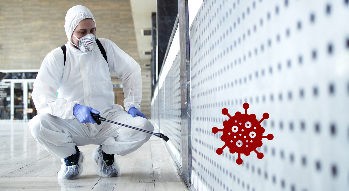 Desinfektionen / Hygienemaßnahmen - Copyright: AdobeStock_334013491